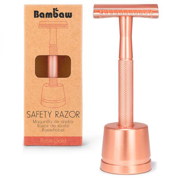rasoir-surete-rose-gold-metal-bambaw