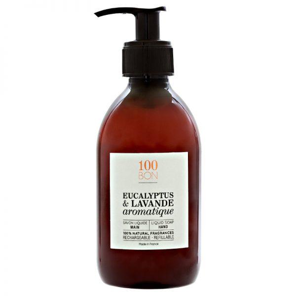 savon-liquide-eucalyptus-lavande-100bon